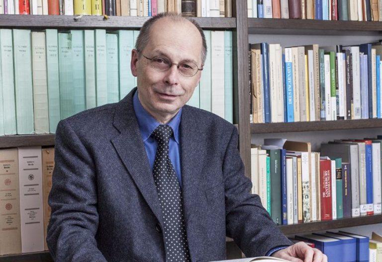Theodor Dieter, teólogo luterano alemán premio Fundación Ratzinger 2017