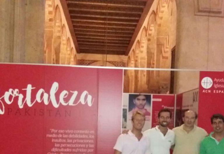 la belleza del martirio, exposición de Ayuda a la Iglesia Necesitada Cristianos perseguidos en Córdoba