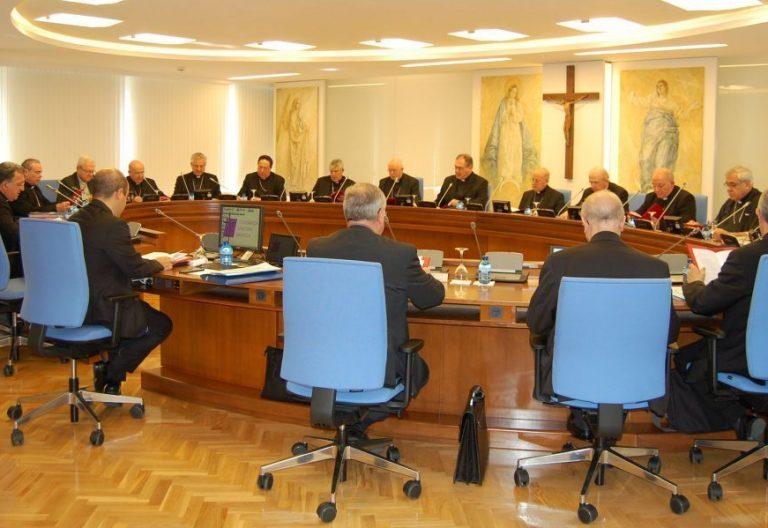 Obispos reunidos en la CCXXXV Comisión Permanente de la Conferencia Episcopal Española