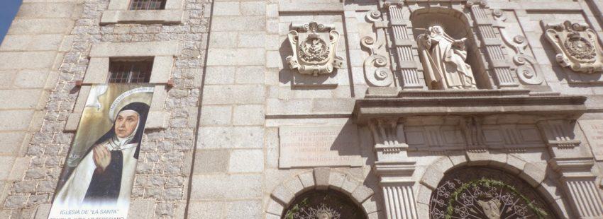 convento de Santa Teresa de Jesús en Ávila casa natal