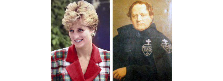 La Princesa Diana de Gales y su tatarabuelo pasionista Ignatius Spencer beatificación