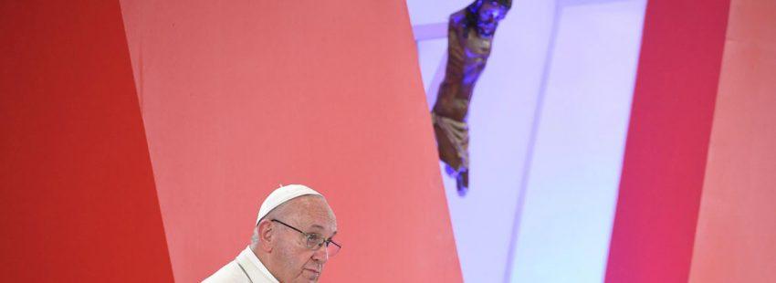 papa Francisco viaje a Colombia Gran encuentro de oración por la reconciliación nacional Villavicencio 8 septiembre 2017