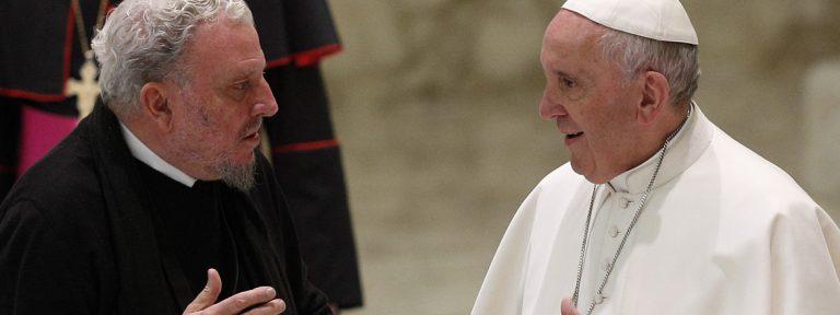 papa Francisco y Kiko Argüello Camino Neocatecumenal en el Vaticano marzo 2016