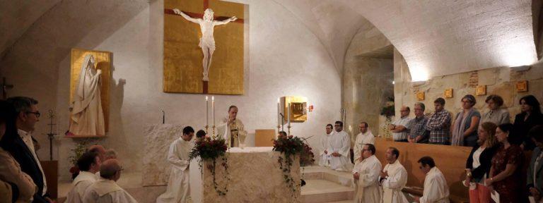 inauguración capilla Universidad Pontificia de Salamanca 26 septiembre 2017