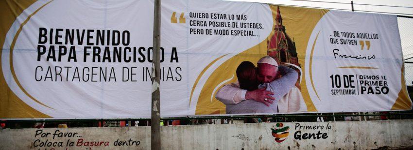 Cartagena espera al papa Francisco viaje Colombia 10 septiembre 2017