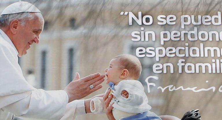 cartel con el papa Francisco viaje Colombia 6-10 septiembre 2017