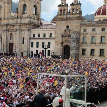 papa Francisco viaje Colombia catedral Bogotá 6-10 septiembre 2017
