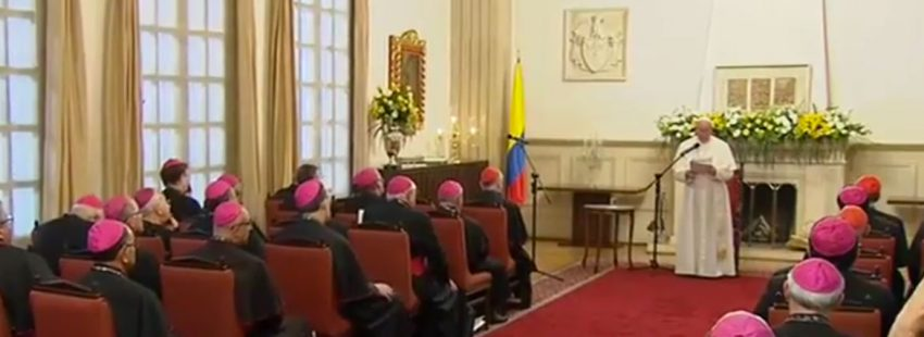papa Francisco encuentro Comité Directivo del CELAM Colombia 7 septiembre 2017