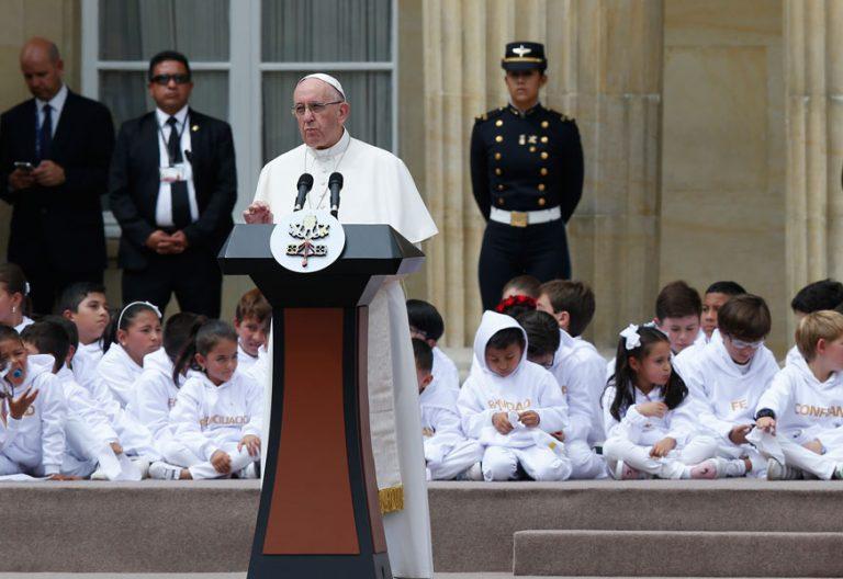papa Francisco en Colombia discurso autoridades 6-10 septiembre 2017