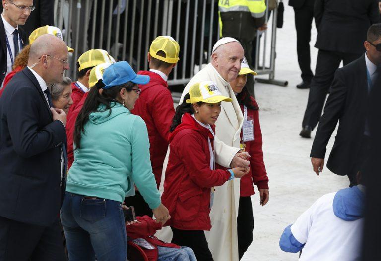 papa Francisco viaje Colombia preside Misa en Parque Simón Bolívar Bogotá 7 septiembre 2017