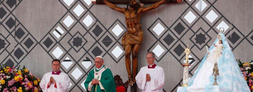 papa Francisco viaje Colombia misa Cartagena 10 septiembre 2017