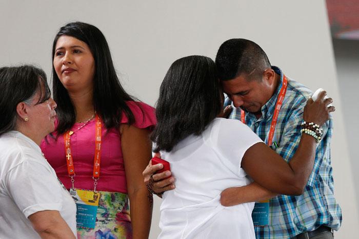 papa Francisco viaje apostólico a Colombia 6-10 septiembre 2017 Villavicencio gran encuentro de oración por la reconciliación nacional Parque Las Malocas