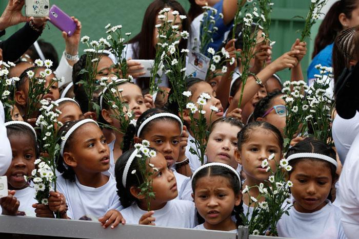 papa Francisco viaje apostólico a Colombia 6-10 septiembre 2017 Hogar San José Medellín
