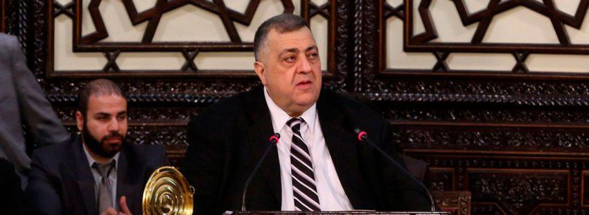 Hammoudé Sabbagh, primer cristiano portavoz del Parlamento sirio en 68 años Siria