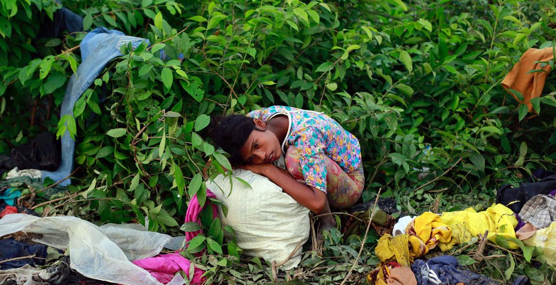 rohinyas minoría musulmana en Myanmar desplazados en Bangladesh
