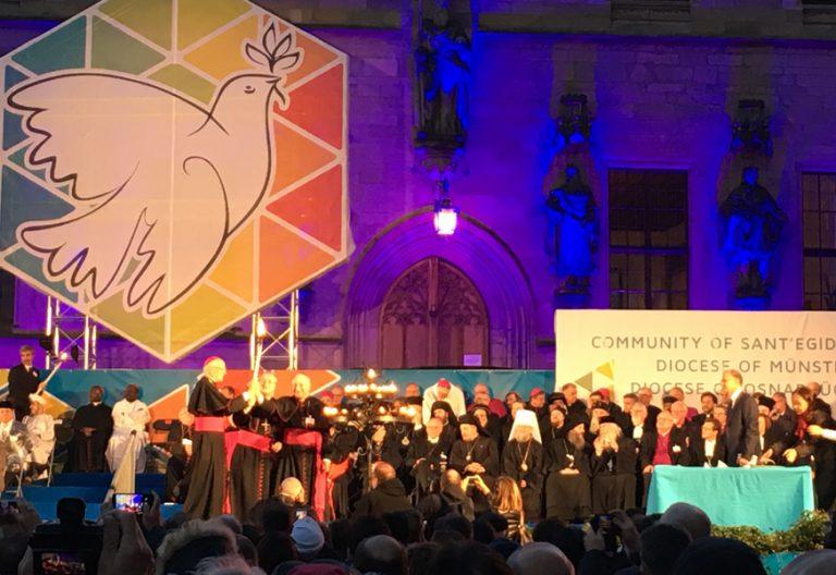 Comunidad de SantEgidio encuentro anual Caminos de Paz Alemania septiembre 2017