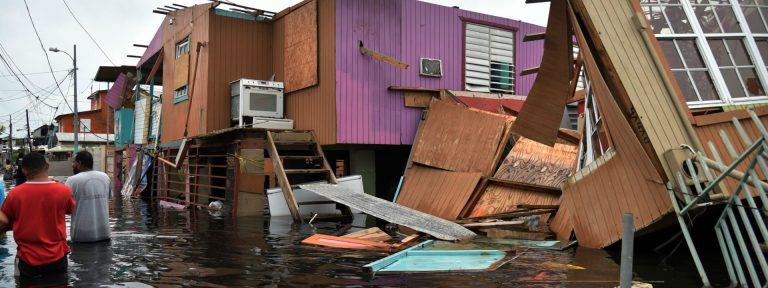 El huracán María causa 13 víctimas mortales a su paso por Puerto Rico 20 septiembre 2017