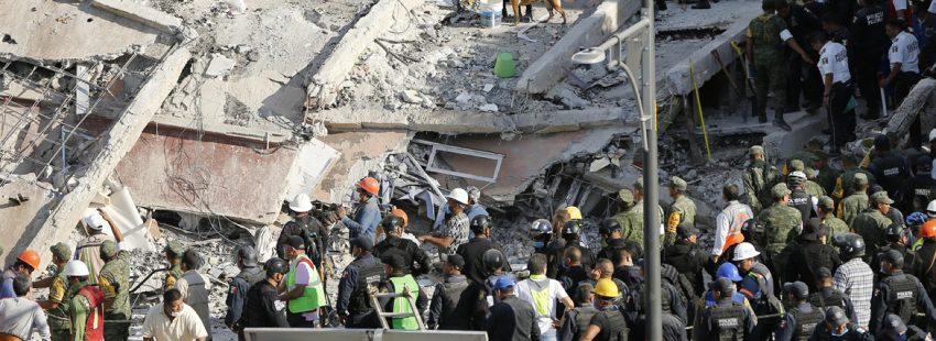 terremoto en México 19 septiembre 2017