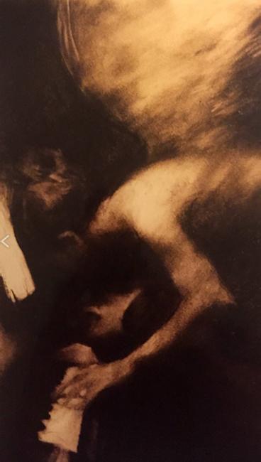 Charles Mackesy cuadro niño de lo invisible