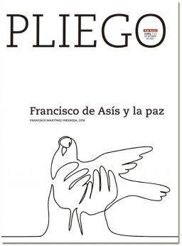 portada Pliego Francisco de Asís y la paz 3053 octubre 2017