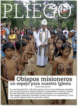 portada Pliego Obispos misioneros Domund 2017 3054 octubre 2017