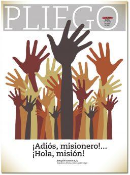 portada Pliego adiós misionero hola misión 3055 octubre 2017