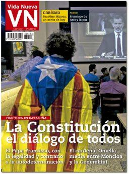 portada Vida Nueva Fractura en Cataluña 3053 octubre 2017