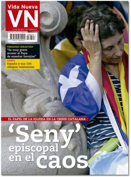 portada Vida Nueva Seny episcopal en el caos en Cataluña 3054 octubre 2017