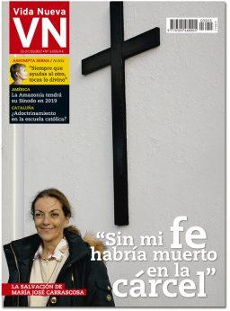 portada Vida Nueva María José Carrascosa 3055 octubre 2017