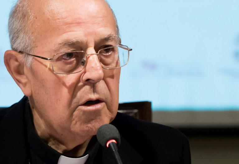 Ricardo Blázquez, cardenal arzobispo de Valladolid hablando de Cataluña octubre 2017