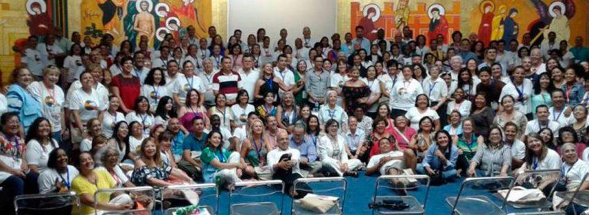 Celebración del V Encuentro Internacional de la Red de Escuelas de Perdón y Reconciliación en Santo Domingo octubre 2017