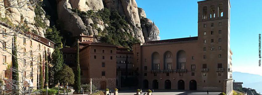 Abadía de Montserrat en Cataluña