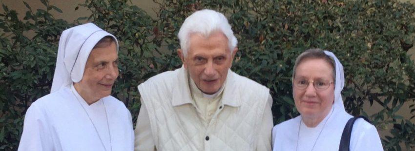 Benedicto XVI, en una imagen del 18 de octubre de 2017
