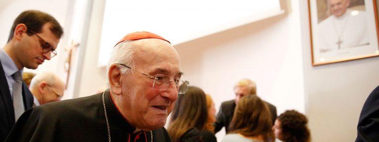 El cardenal Walter Brandmüller, en una conferencia sobre Humanae vitae octubre 2017 Vaticano