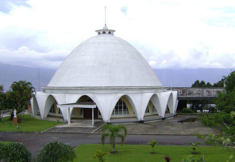 capilla y seminario de la Arquidiócesis de Medellín Colombia donde se celebró la II Conferencia General del Episcopado Latinoamericano CELAM 1968