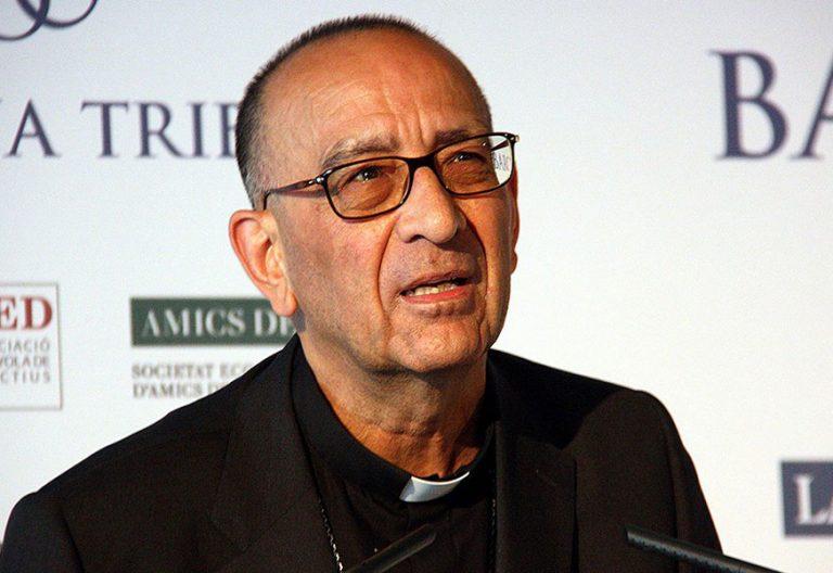 cardenal Juan José Omella, arzobispo de Barcelona