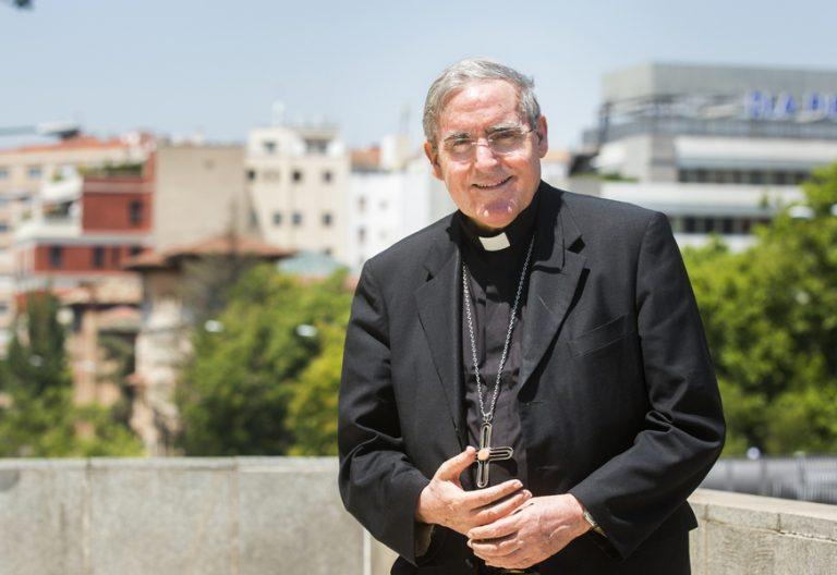 Lluís Martínez Sistach cardenal arzobispo de Barcelona en Madrid