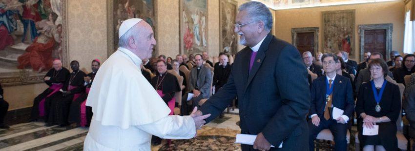 El Papa recibe al Consejo Mundial Metodista en octubre de 2017/CNS