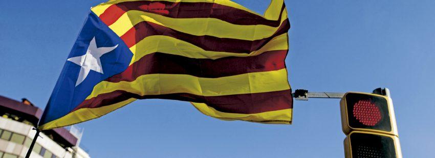 bandera estelada independentista en Cataluña
