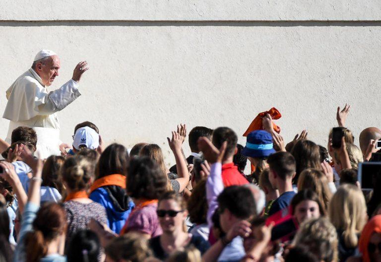 papa Francisco audiencia general de los miércoles 4 octubre 2017 Plaza de San Pedro