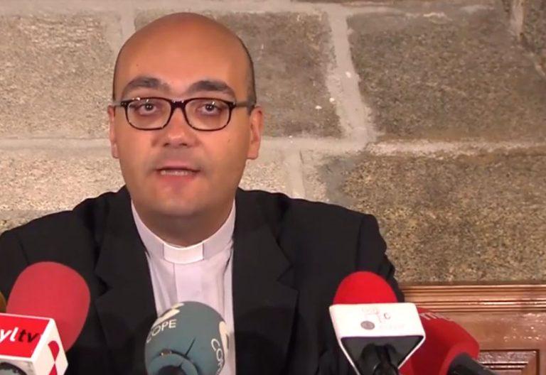Jorge Zazo, sacerdote diócesis de Ávila coordinador del Año Jubilar Teresiano