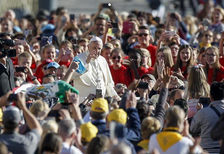 papa Francisco audiencia general miércoles 11 octubre 2017
