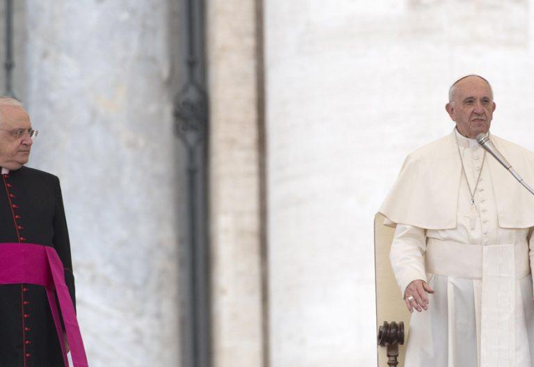 papa Francisco durante la audiencia general del miércoles 18 octubre 2017