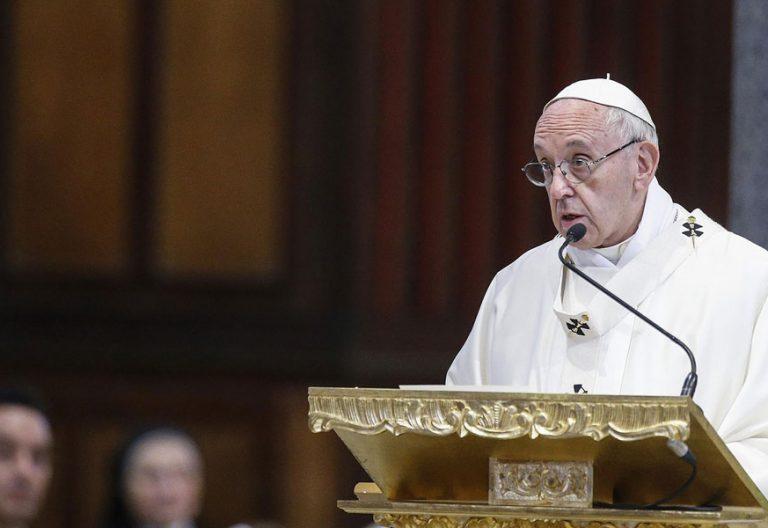papa Francisco preside misa centenario la Congregación de Iglesias orientales 12 octubre 2017