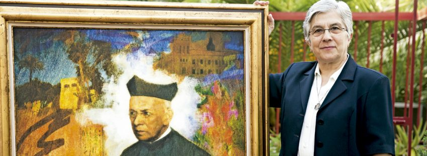 M. Sacramento Calderón, superiora general del Instituto Calasancio Hijas de la Divina Pastora