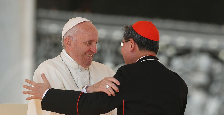 El Papa y Tagle