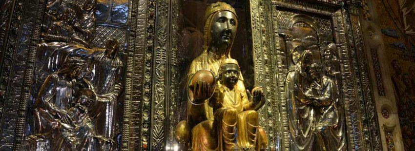 Virgen de Montserrat moreneta Cataluña