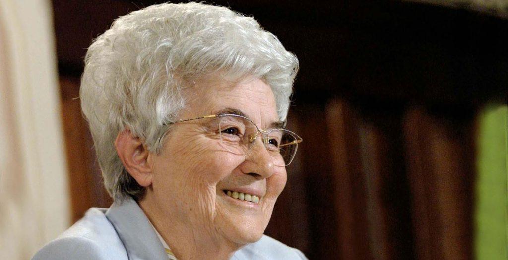 Chiara Lubich, fundadora del Movimiento de los Focolares