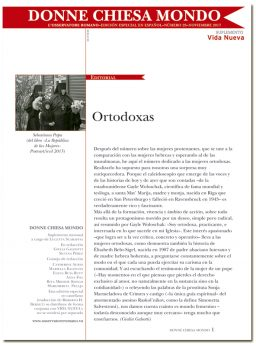 portada Donne Chiesa Mondo Mujeres ortodoxas 3060 noviembre 2017