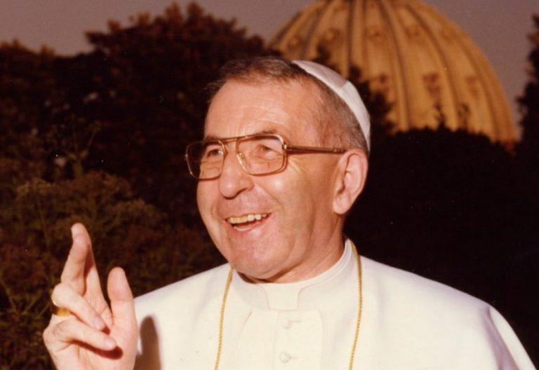 El Papa Juan Pablo I